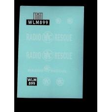 Budgie No 278 RAC Radio Rescue Land Rover - WLM 899