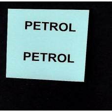 Dinky No 25d Petrol Tank Wagon - Petrol Black