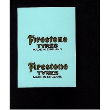 Dinky No 28e Delivery Van - Firestone Gold - Type 1/2/3