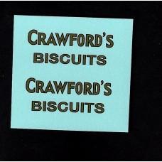 Dinky No 28l Delivery Van - Crawfords Biscuits - Type 1