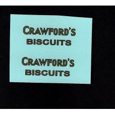 Dinky No 28p Delivery Van - Crawfords Biscuits - Type 2/3