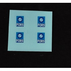Generic FORS 10mm Transfers/Decals