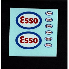 A1a Esso Petrol Pumps and Sign