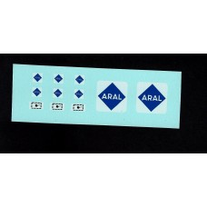 A1b BP Petrol Pumps and Sign Custom/Code 3 ARAL Transfers
