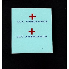 14c Bedford Lomas Ambulance LCC - Blue