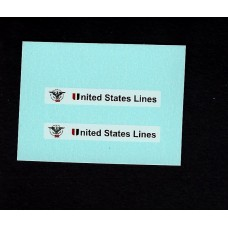 25f Flat Car Container - United States Lines