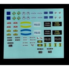 Triang Minic Motorway Transfers/Decals - Logos
