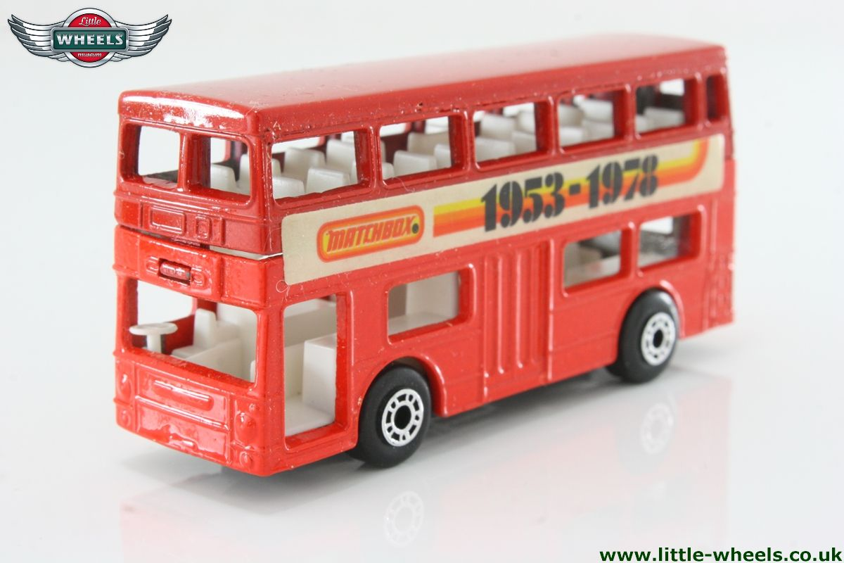 MATCHBOX SUPERFAST 17f LONDONER BUS TRANFSERS//DECALS